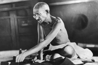 "Mahatma Gandhi was a stickler for cleanliness and worked hard to create its awareness in India. His zeal is the inspiration for the Swachh Bharat Mission. He had said, ""Everyone must be his own scavenger"", urging people to take cleanliness of public places as seriously as personal hygiene. Hulton Archive"