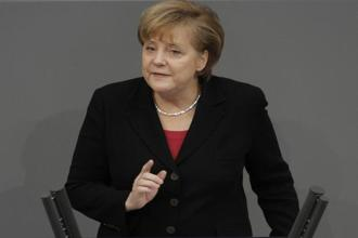 A file photo of Germany's chancellor Angela Merkel. Photo: Bloomberg