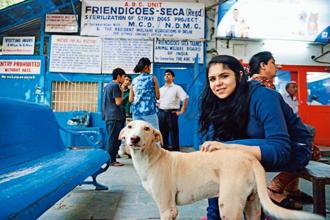 Diva Sharma at Friendicoes, New Delhi. Photo: Pradeep Gaur/Mint