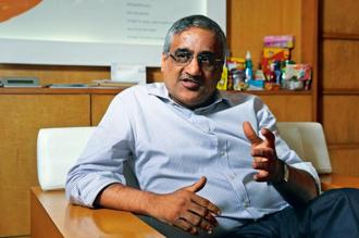 A file photo of Kishore Biyani. Photo: Mint