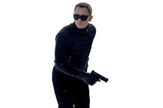 Daniel Craig appears this year in 'Spectre' his fourth James Bond film.