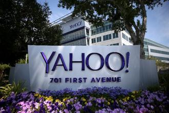 One option on the table for the nine board members is whether to sell Yahoo's core business, which includes Mail, its sports sites, and advertising technology. Photo: AFP/Getty Images