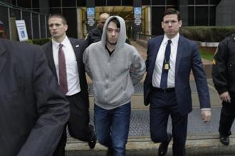 "Martin Shkreli, who called himself ""the world's most eligible bachelor"" and boasted about buying the only copy of a Wu-Tang Clan album for $2 million, exits federal court in New York. Photo: Bloomberg"
