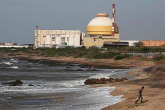 India wants to dramatically increase its nuclear capacity to 63,000 MW by 2032, from 5,780 MW, as part of a push to move away from fossil fuels, cut greenhouse gas emissions and avoid the dangerous effects of climate change.  Photo: Reuters