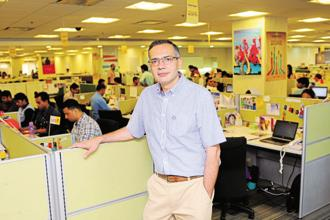 A file photo of Deep Kalra, founder and group CEO, MakeMyTrip. Photo: Priyanka Parashar/Mint