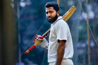 Wasim Jaffer recently became the first batsman to score 10,000 runs in the Ranji Trophy. Photographs by Aniruddha Chowdhury/Mint