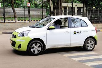 Ola Corporate is available in all the 102 cities it is operating. Photo: Hemant Mishra/Mint