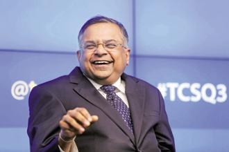 TCS risks ending this fiscal with the slowest revenue growth since 2009, when N. Chandrasekaran took charge as chief executive. Photo: Reuters