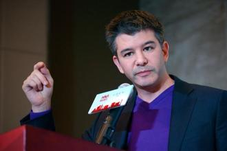"At IIT-Bombay, Travis Kalanick will speak to entrepreneur hopefuls on how to build a business, drawing parallels from his own entrepreneurial journey, and ""what it takes to build the world's fastest-growing start-up"".  Photo: AFP"