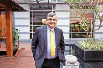 A file photo of Krishnakumar Natarajan. Photo: Abhijit Bhatlekar/Mint