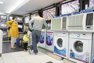 Amber Enterprises manufactures air conditioners, microwaves, components for refrigerators and other consumer durables for companies such as LG, Panasonic, Philips, Whirlpool and others. Photo: Hindustan Times