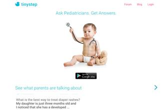Tinystep has a community-driven approach where users can connect with other parents to discuss various aspects of parentage.