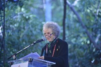 Margaret Atwood at the Jaipur Literature Festival. Photo:  Priyanka Parashar/Mint