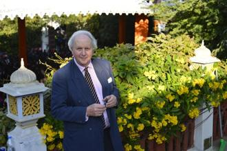 Alexander McCall Smith at Jaipur Literature Festival. Photo: Priyanka Parashar/Mint