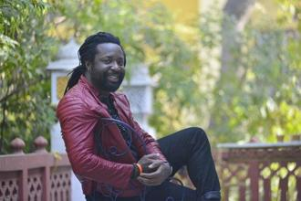Marlon James at the Jaipur Literature Festival. Photo: Priyanka Parashar/Mint