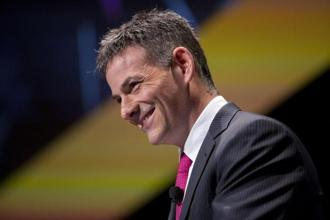 A file photo of David Einhorn, president of Greenlight Capital Inc. Photo: Bloomberg