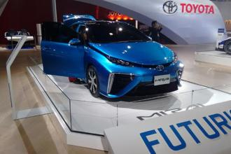 Toyota Mirai is the Japanese autos fuel-cell vehicle based on use of hydrogen. The company claims that this vehicle will drive forward the alternative fuel movement.