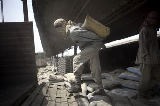 Capacity utilization of India Cements factories was down to 52% in the December quarter compared to 60% in the September quarter. Photo: Bloomberg