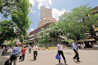 BSE's benchmark Sensex has fallen almost 20.7% from its high of 30,024.74 points seen in March last year till Monday.  Photo: Aniruddha Chowdhury/Mint
