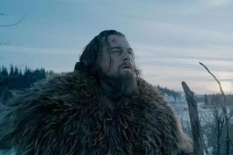The Revenant, with its jaw-dropping, gritty long takes might make it three in a row for Emmanuel Lubezki after Gravity, and Birdman.