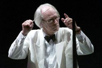A file photo of Sir George Martin. Photo: Reuters