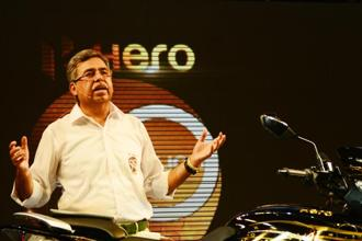 Pawan Munjal, chairman and managing director of Hero MotoCorp. Photo: Ramesh Pathania/Mint