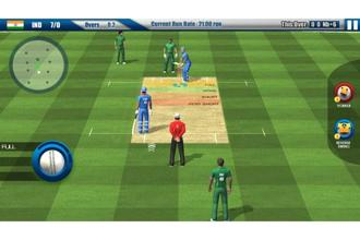 The game offers a Twenty20 tournament mode, quick match mode and a one-day mode