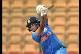 Even if India fail to qualify to the next round, nothing much changes from Veda's perspective as her reemergence coincides with the starting curve of the era post central contracts in Indian women's cricket. Photo: PTI