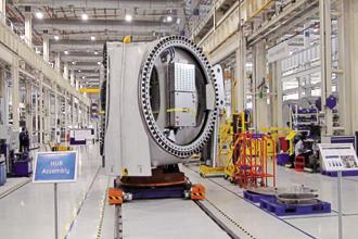 GE's multi-modal manufacturing facility in Chakan. Photo: Abel Robinson/Mint