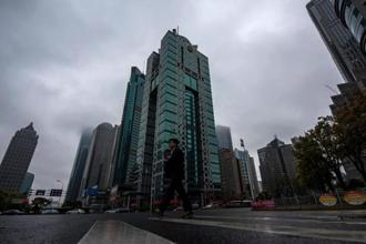 A file photo shows the building where the Panama-based law firm Mossack Fonseca has an office in Shanghai. Photo: AFP