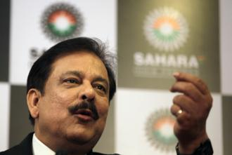 A file photo of Sahara chief Subrata Roy. Photo: Hindustan Times