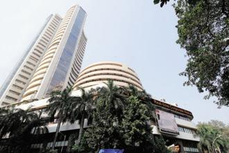 Indian domestic markets were also volatile due to the expiry of monthly derivative contracts.  Photo: Hemant Mishra/Mint