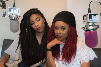 '2 Dope Queens' is hosted live by comics Phoebe Robinson and Jessica Williams at Union Hall, in Brooklyn, New York.