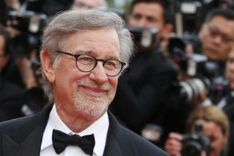 "Director Steven Spielberg poses on the red carpet as he arrives for the screening of the film ""The BFG"" out of competition at the 69th Cannes Film Festival in Cannes, France on 14  May. Photo: Reuters"