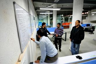Start-ups in select sectors have increased the utilization of critical resources. Photo: Priyanka Parashar/Mint