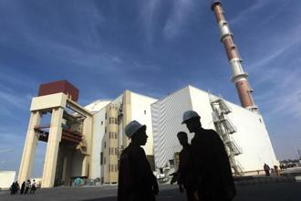A file photo of the reactor building at the Russian-built Bushehr nuclear power plant in southern Iran. Photo: AFP