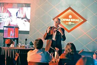 Chivas Regal brand ambassador Colin Scott.
