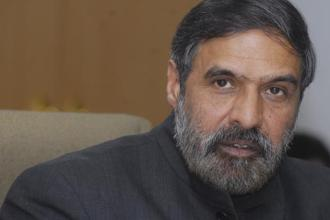 A file photo of Congress spokesman Anand Sharma. He says that the Centre should have intervened after the first attack on an African national. Photo: Ramesh Pathania/Mint