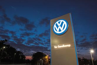 Nine months after it emerged that Volkswagen had installed emissions-cheating software into 11 million diesel engines worldwide, the former paragon of German industry is still nowhere near drawing a line under its deepest ever crisis. Photo: AFP