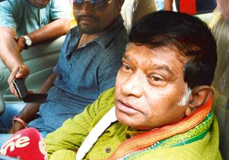 A file photo of Ajit Jogi. Earlier this month, Jogi had warned the Congress that if his grievances were not addressed, he would quit the party. Photo: Ramesh Pathania/Mint