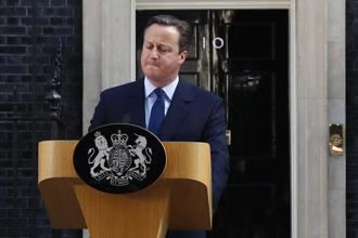 Britain's David Cameron said he would resign as prime minister by October after Britons voted in a referendum to leave the European Union. Photo: Reuters