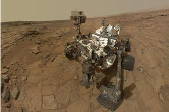 Nasa's Mars Curiosity rover has discovered high levels of manganese oxides in Martian rocks. Photo: Nasa