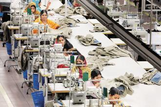 Bangladesh, one of the world's poorest countries, relies on garments for around 80% of its exports and for about 4 million jobs. Photo: Bloomberg