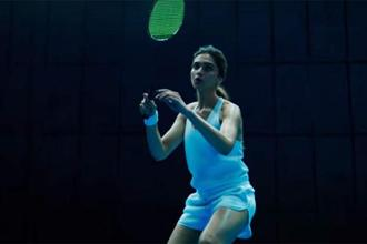 Deepika Padukone in a still from the ad
