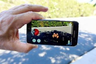 "The augmented reality mobile game ""Pokemon Go"" by Nintendo is shown on a smartphone screen. Photo: Reuters"