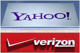 Verizon will pay cash in a deal that includes Yahoo real estate, but excludes some intellectual property, which will be sold separately. Photo: Reuters
