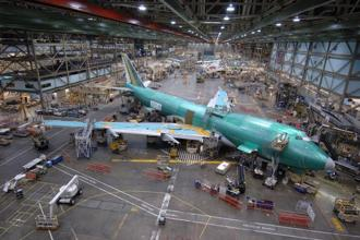 Boeing also cancelled plans to increase production of the 747 to one plane per month from 2019.