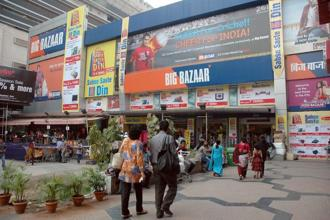 Big Bazaar is targeting a Rs1,000 crore sales during the Maha Bachat sale between 13-17 August this year and will be encouraged by the online partnership. Photo: Mint