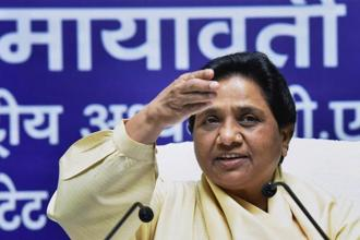 File photo. Analysts said that Mayawati's visit to Gujarat is an effort to consolidate Dalit votes which may have shifted away from the party after the exit of some BSP leaders. Photo: PTI