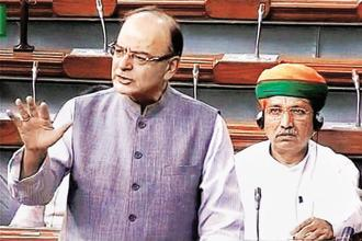 Finance minister Arun Jaitley on Monday sought to assuage concerns about high tax rates under GST and the consequent impact on the common man. Photo: PTI